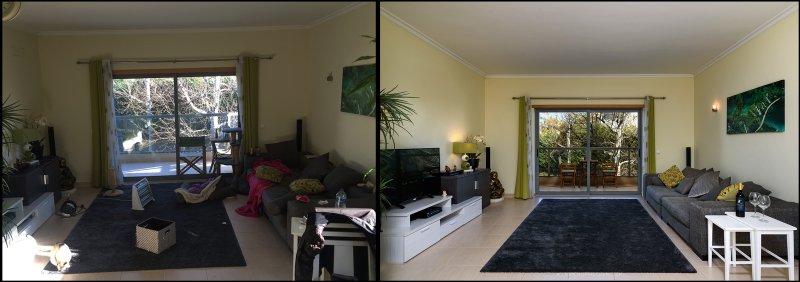 diferenças entre duas habitações