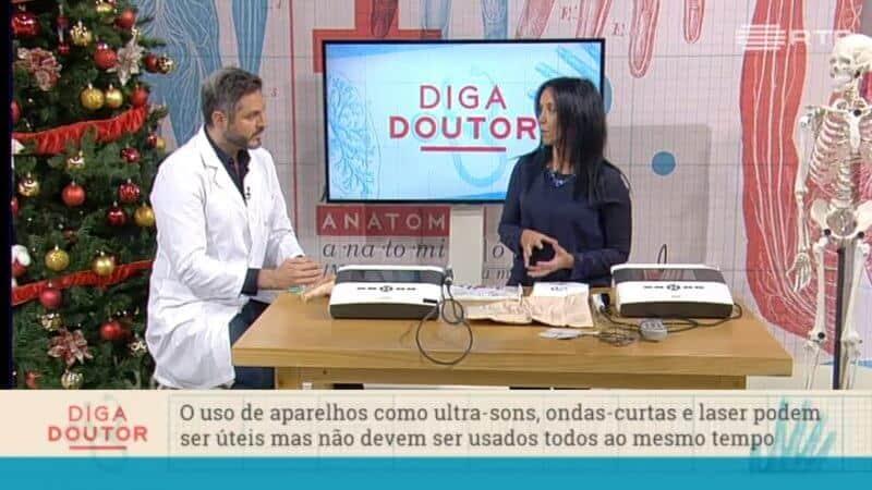 entrevista do diga o doutor na televisão