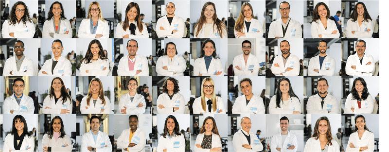 foto de vários consultores que trabalham no doutor finanças