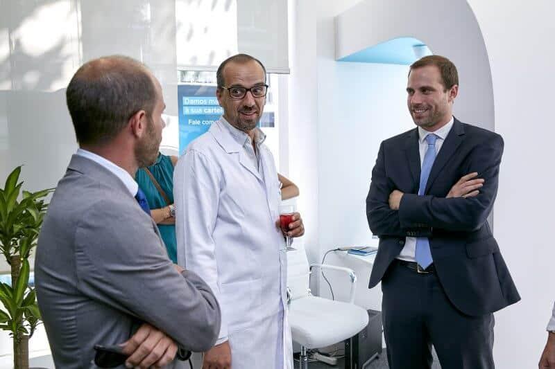 Várias entidades financeiras marcaram presença na inauguração do Doutor Finanças