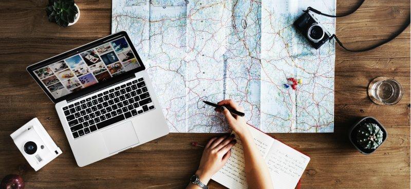 Planear a viagem