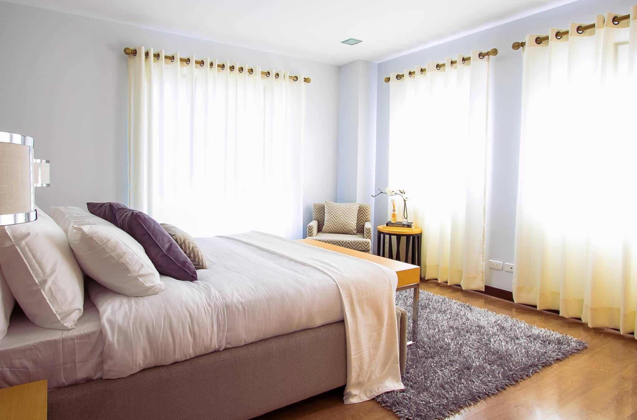Decoración, tips, ideas, hogar, alfombra, habitación