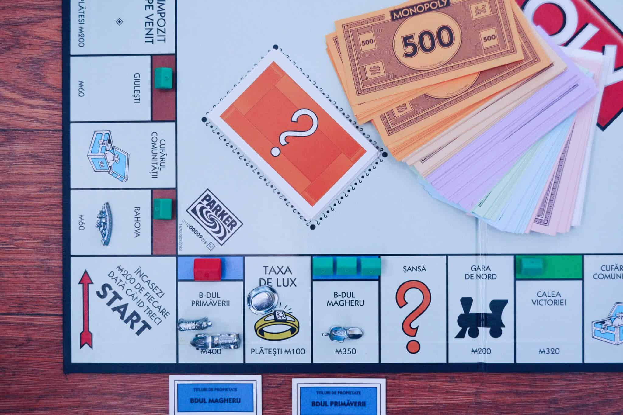 7 lições financeiras do Jogo Monopólio