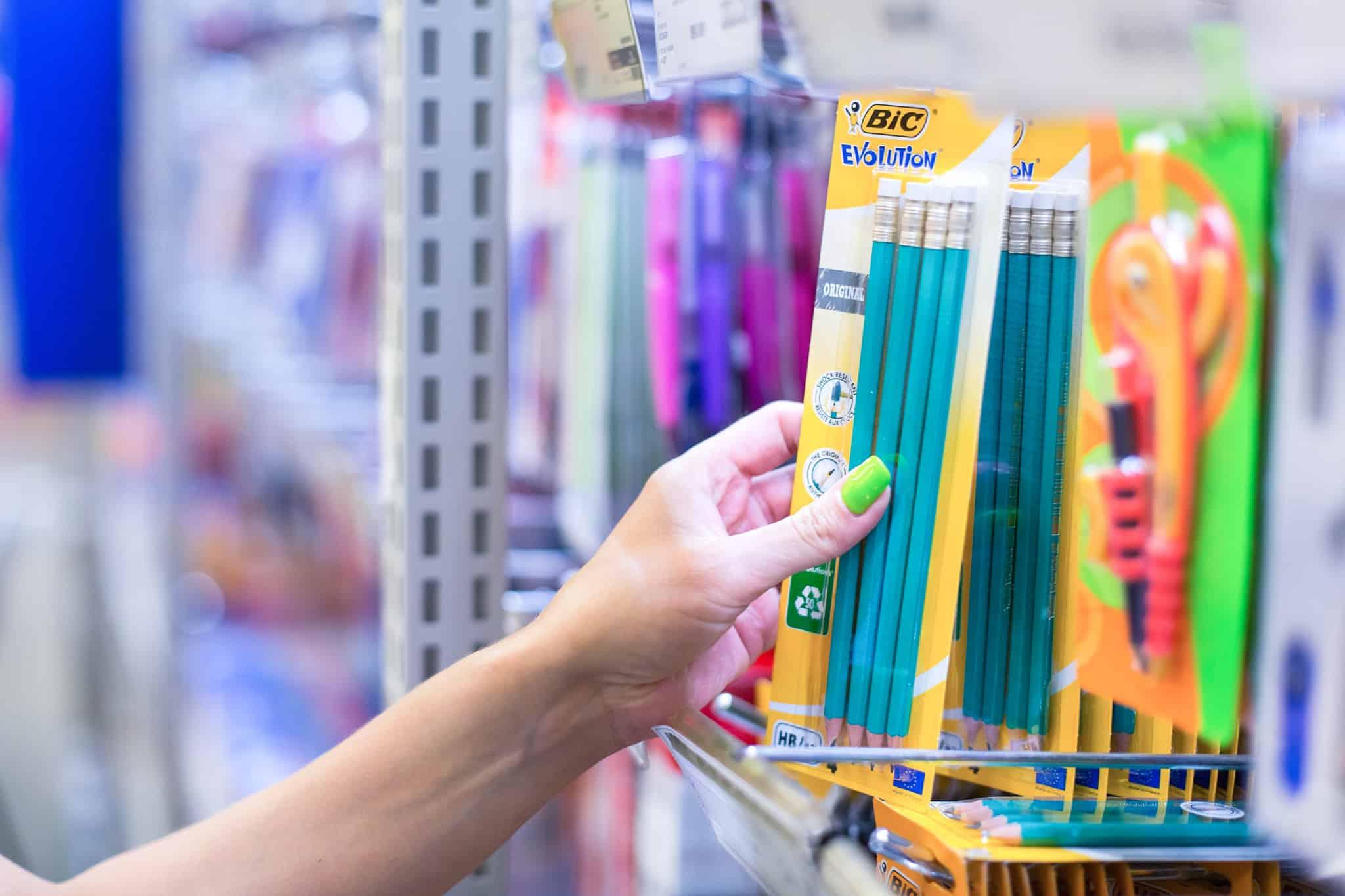 materiais escolares compras