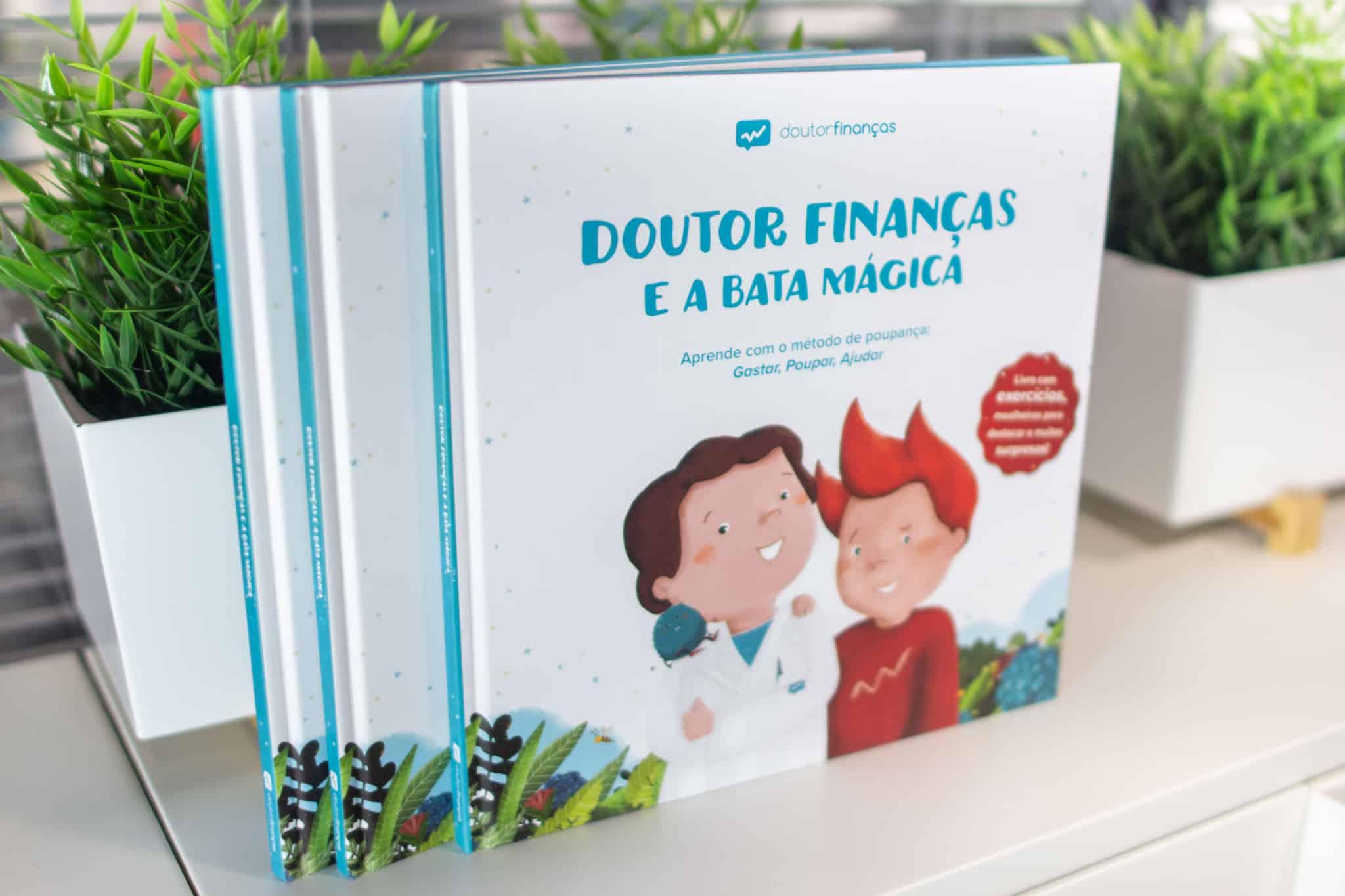 Livro Doutor Finanças e a Bata Mágica