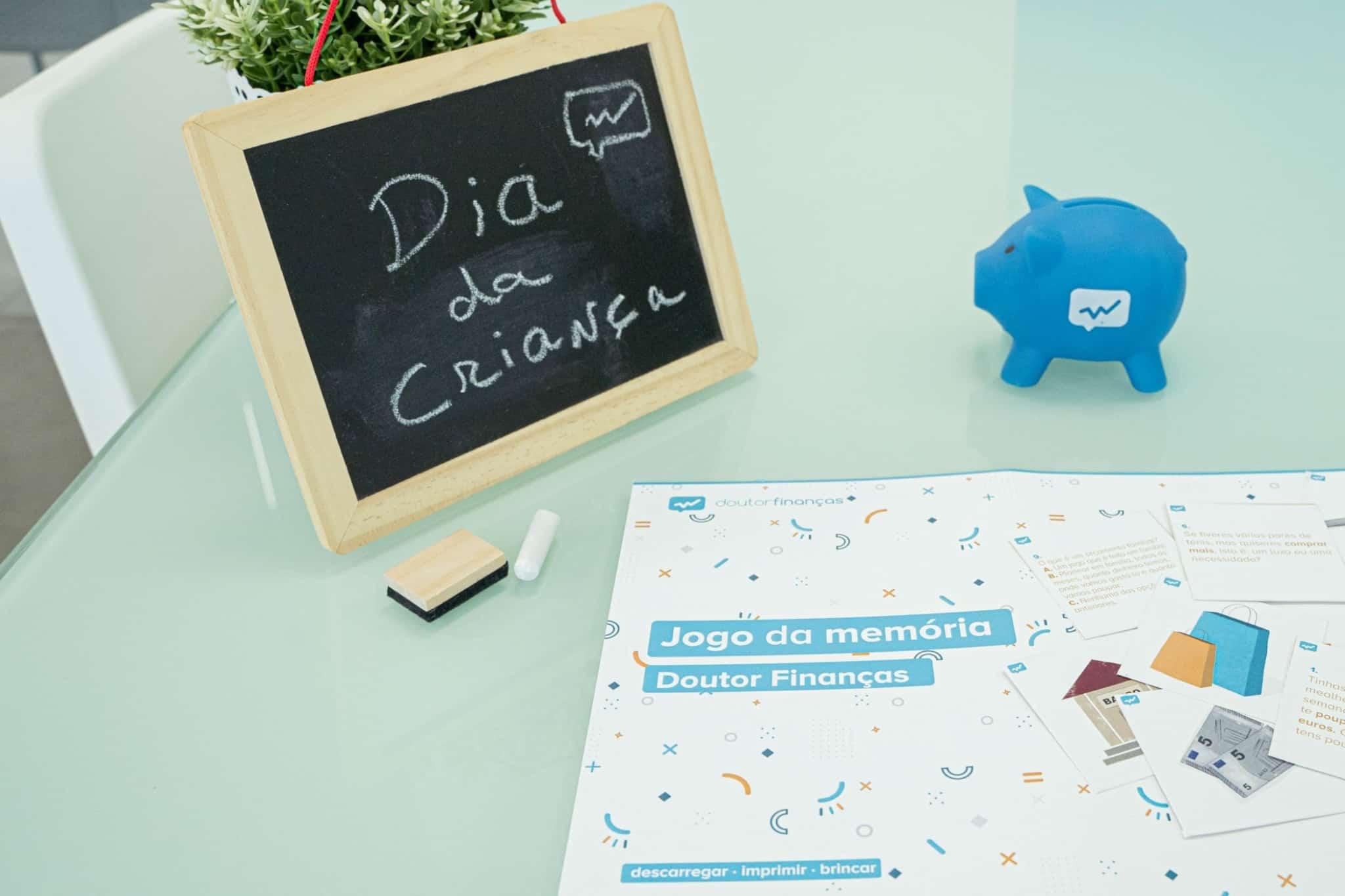 Jogo da Memória do Doutor Finanças no âmbito do Dia Mundial da Criança